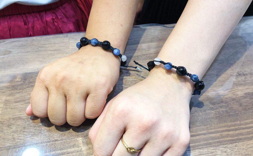 【ブレスレットデザイン例】友達とお揃いブレス@心斎橋筋店